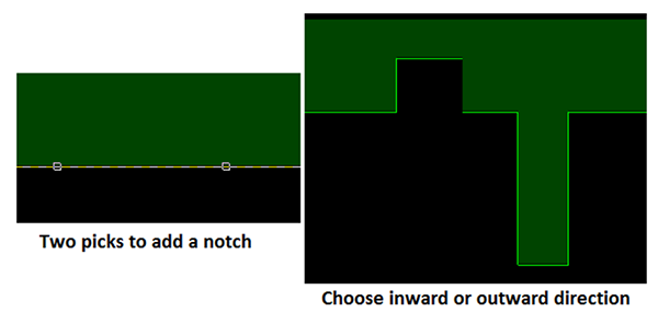 Image showing how to set the shape edit mode in Cadence Allegro